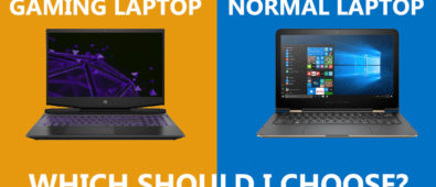 gaming laptop vs normal laptop
